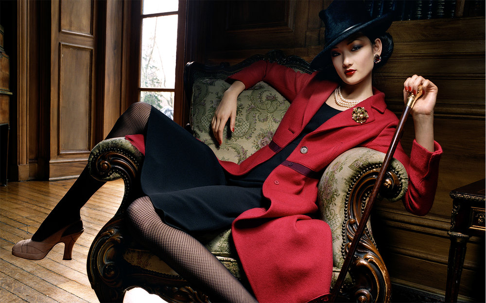 Vogue Japan FRENCH CHIC   FASHION EDITOR Tiina Laakkonen MODEL Ai Tominaga