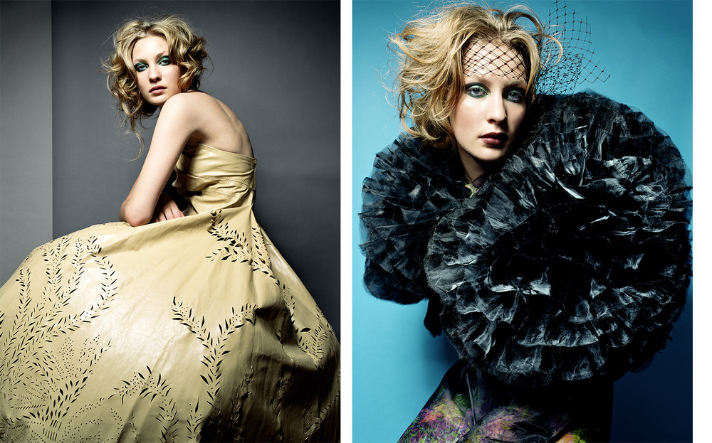Vogue Japan LARGER THAN LIFE   FASHION EDITOR Tiina Laakkonen CREATIVE DIRECTOR Debbie Smith