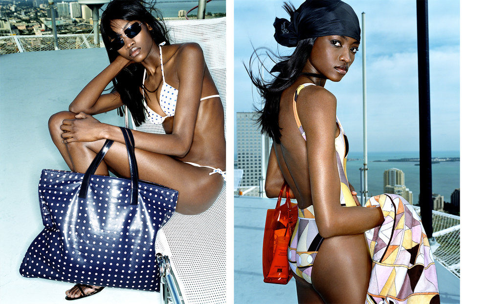 Vogue POOL CUES   FASHION EDITOR Elissa Santisi MODEL Oluchi Onweagba