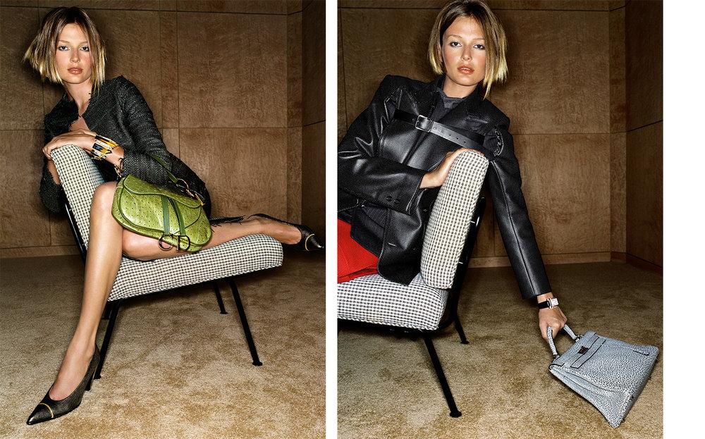 Vogue REACTIONARY CHIC   FASHION EDITOR Elissa Santisi DESIGN DIRECTOR Charles Churchward