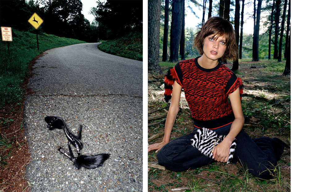 Vogue WHERE THE WILD THINGS ARE   FASHION EDITOR Elissa Santisi DESIGN DIRECTOR Charles Churchward
