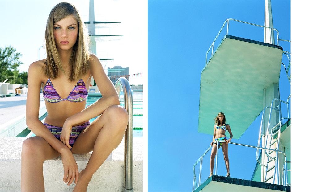 Vogue POOLSIDE PRINTS   FASHION EDITOR Elissa Santisi DESIGN DIRECTOR Charles Churchward