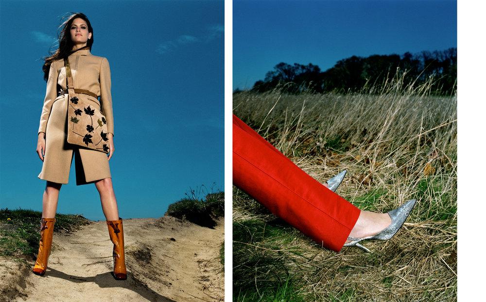 Vogue THE ELEMENTS   FASHION EDITOR Elissa Santisi DESIGN DIRECTOR Charles Churchward