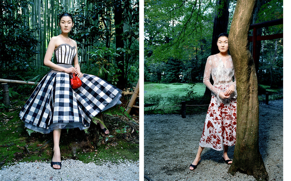 Vogue Japan DRESSING UP AND GOING TO KYOTO   FASHION EDITOR Tiina Laakkonen CREATIVE DIRECTOR Debbie Smith