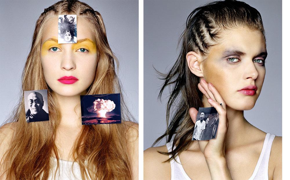British Vogue TIME OF OUR LIFE   FASHION EDITOR Tiina Laakkonen CREATIVE DIRECTOR Robin Derrick