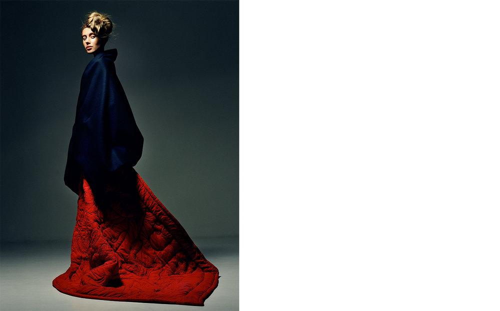 British Vogue UNDER WRAPS   FASHION EDITOR Tiina Laakkonen CREATIVE DIRECTOR Robin Derrick