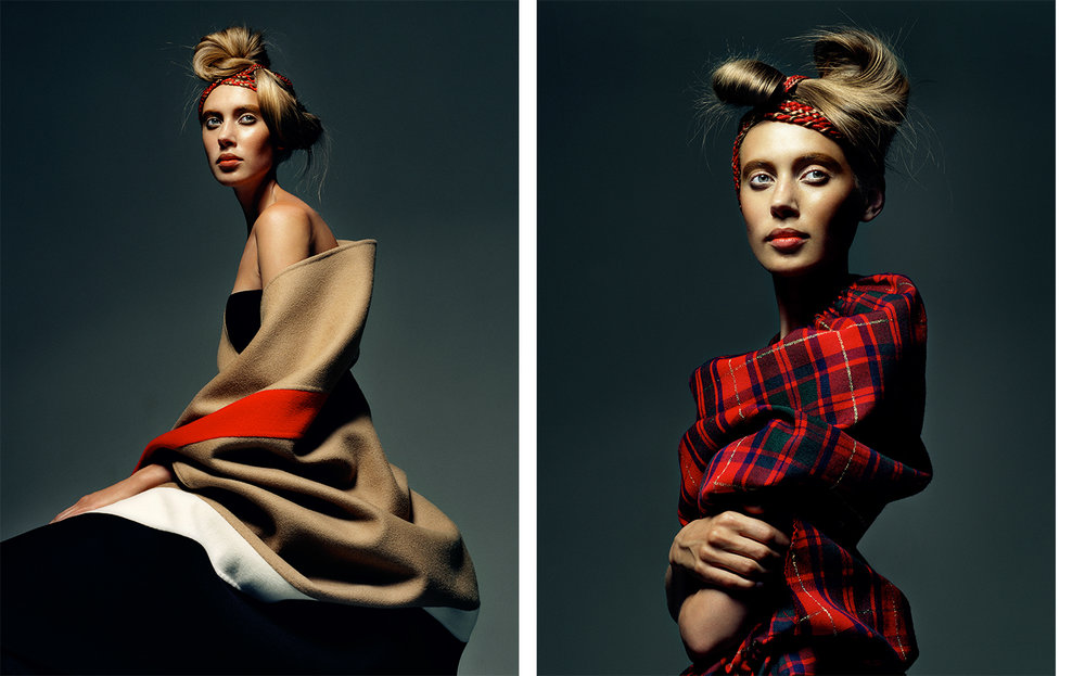 British Vogue UNDER WRAPS   FASHION EDITOR Tiina Laakkonen HAIR Eugene Souleiman