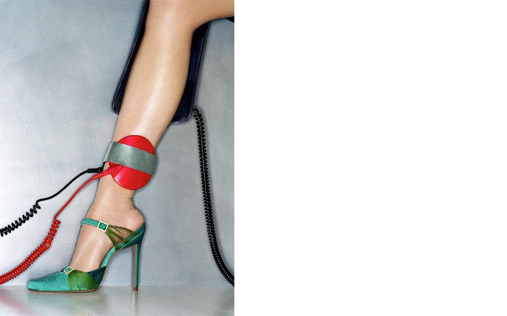 Vogue SOLE REVIVAL   FASHION EDITOR Elissa Santisi DESIGN DIRECTOR Charles Churchward