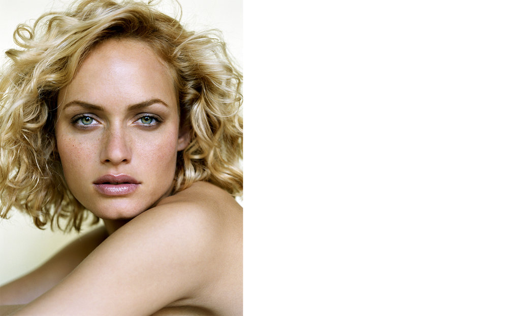 British Vogue COVER   FASHION EDITOR Tiina Laakkonen MODEL Amber Valletta