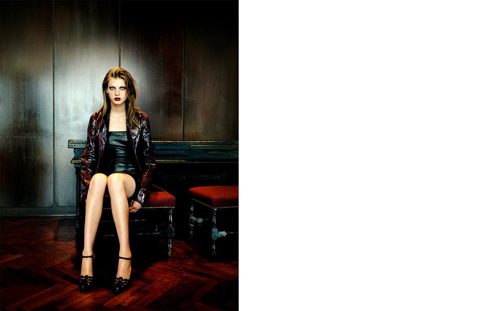 British Vogue SKIN   FASHION EDITOR Tiina Laakkonen CREATIVE DIRECTOR Robin Derrick