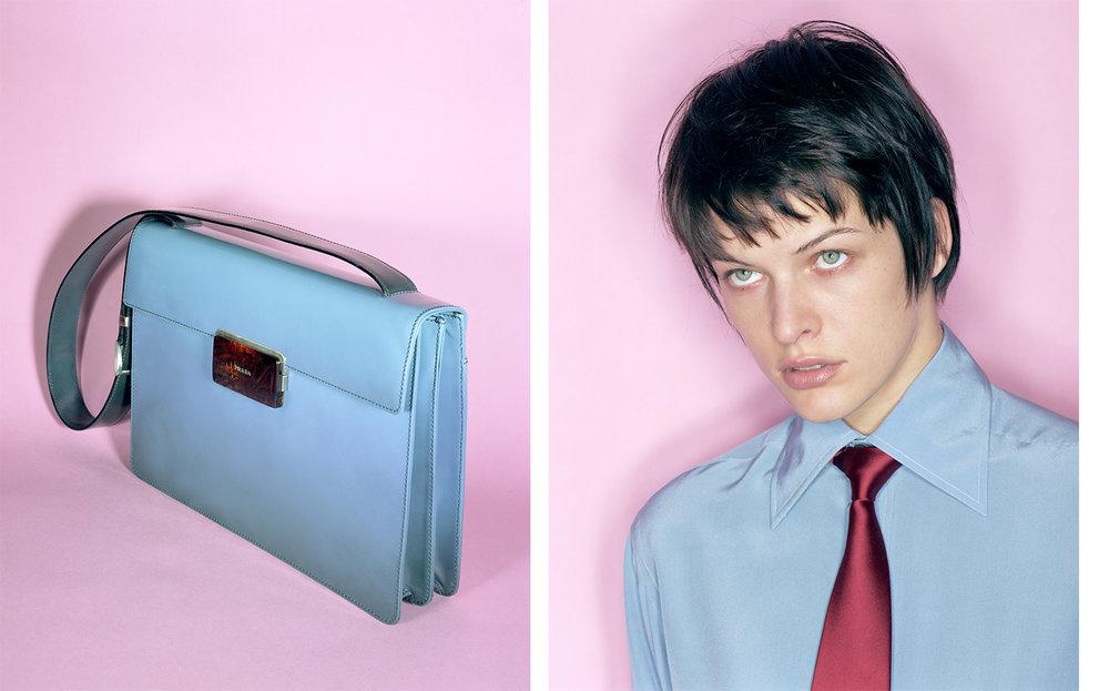 Harper's Bazaar CH- CH- CH- CHANGES   FASHION EDITOR Elissa Santisi MODEL Milla Jovovich