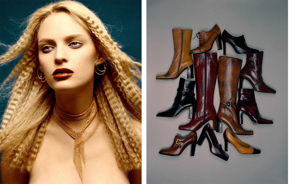 British Vogue GOLDEN BROWN   FASHION EDITOR Tiina Laakkonen