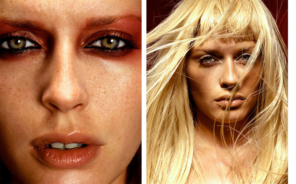 Vogue Germany DIE ZEHN BEAUTY-GEBOTE   FASHION EDITOR Susanne Kölmel MODEL Annie Morton
