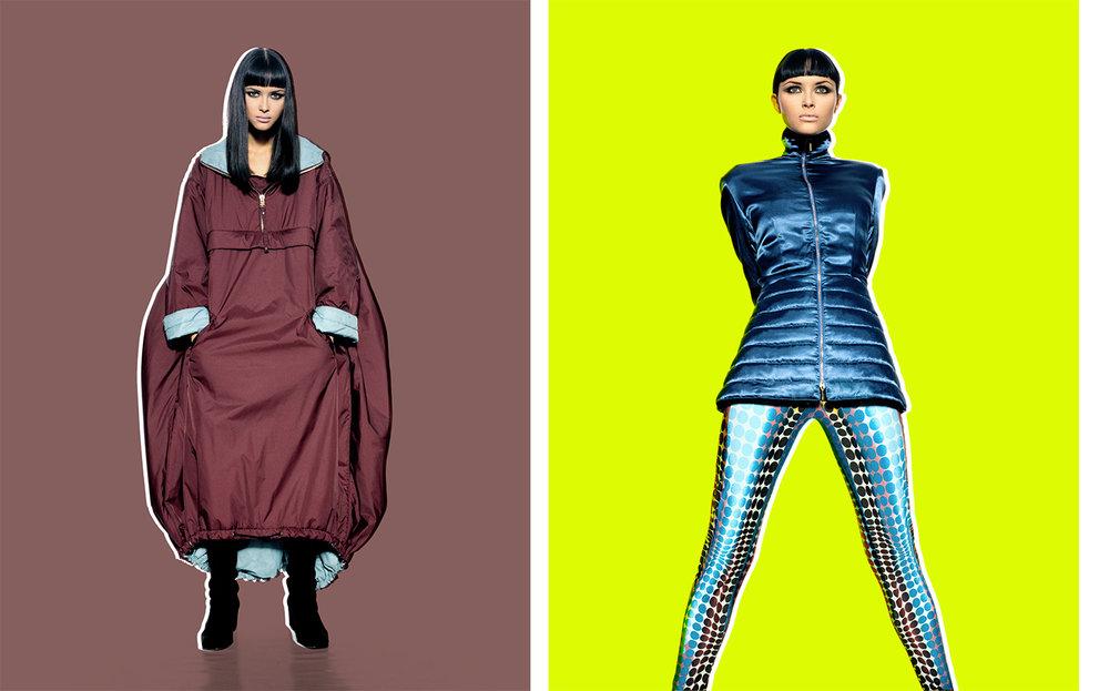 Vogue Spain SKI   ART DIRECTION Debbie Smith