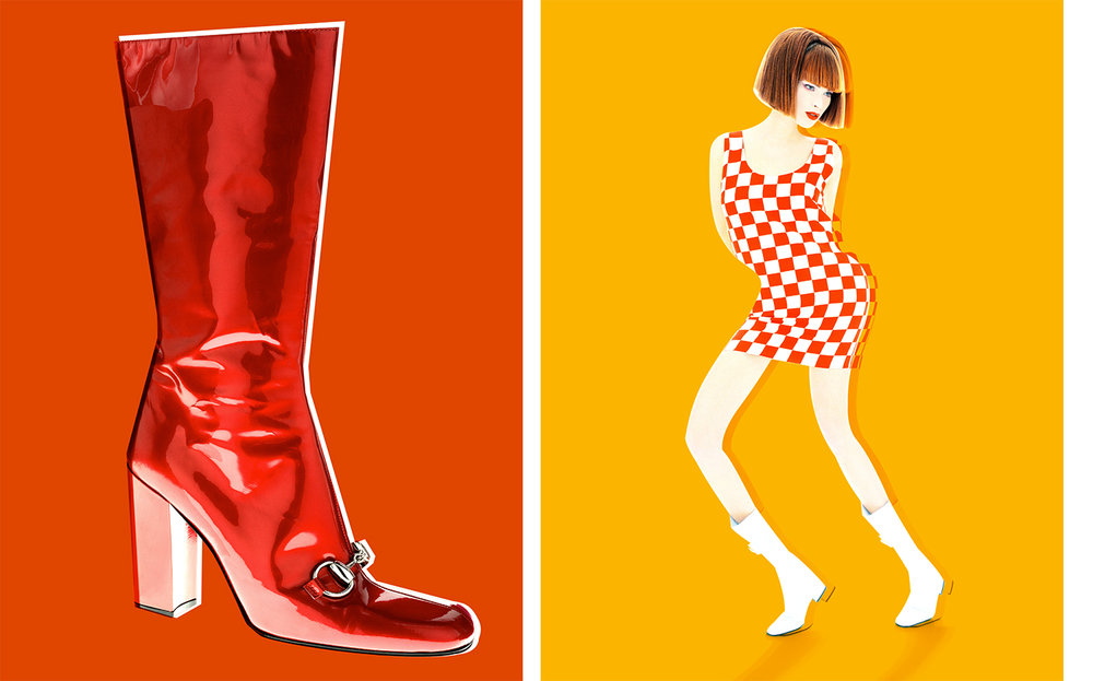 W Magazine RED AHEAD   ART DIRECTION Dennis Freedman