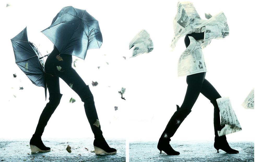 Harper's Bazaar   BOOTS   FASHION EDITOR Elissa Santisi CREATIVE DIRECTOR Fabien Baron