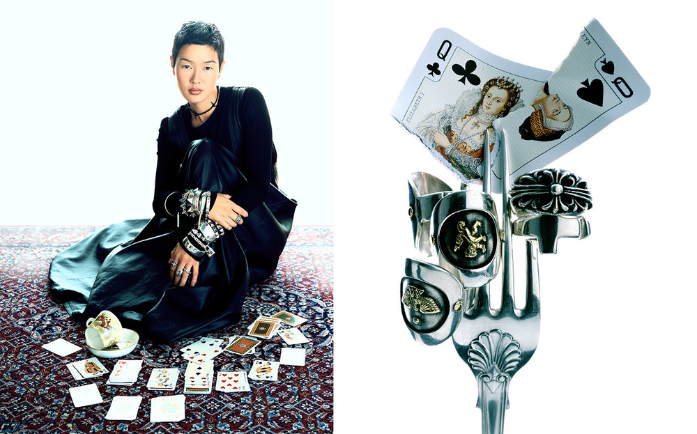 Harper's Bazaar   PUNK ROCKS   FASHION EDITOR Elissa Santisi CREATIVE DIRECTOR Fabien Baron