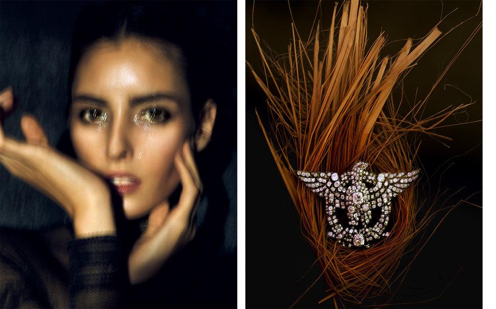 Harper's Bazaar   DESIRE   FASHION EDITOR Elissa Santisi CREATIVE DIRECTOR Fabien Baron