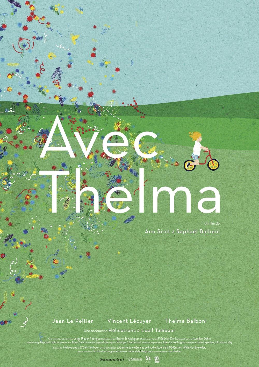 AVEC THELMA de Ann Sirot et Raphaël Balboniremporte le Magritte du Meilleur court métrage de fiction !