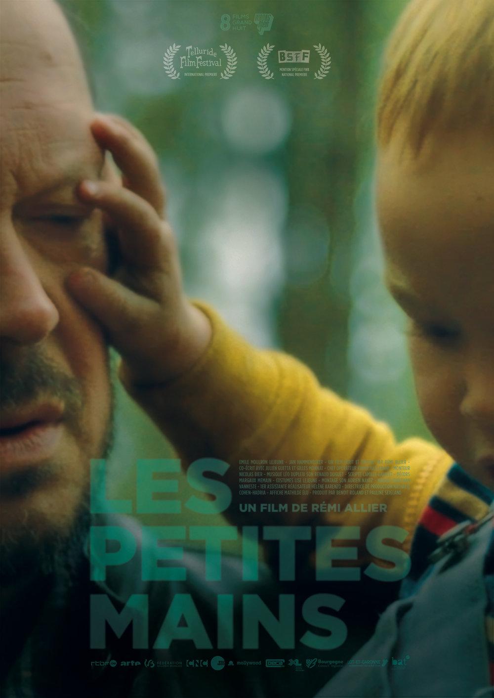 LES PETITES MAINS de Rémi Allier était également en compétition dans la catégorie du Meilleur court métrage de fiction !