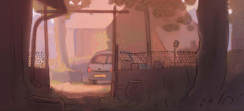 POUR UNE POIGNÉE DE GIROLLES de Julien Grande, 2016, Animation, 7'   Alors que toute la famille s'attelle à la préparation du repas, le grand-père tente désespérément de trouver quelques champignons.