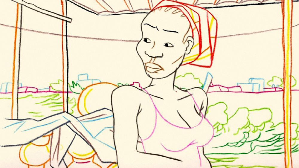 COGITATIONS du Collectif Camera etc., 2013, animation, 9'   Partir ou rester ? A travers leurs réponses à cette question, des habitants de Ouagadougou parlent de leurs rêves de départ vers l'Occident, d'autres de leur volonté de rester au pays. De cette mosaïque de réflexions se dégage l'envie d'en finir avec la pauvreté, mais aussi la peur de ne pas trouver de travail «là-bas », et d'y être mal accueillis. Ces pensées, reflets d'une image de l'Occident-Eldorado, se mêlent pour parler d'une même aspiration : la recherche d'une vie meilleure.