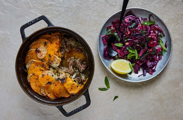 All the right stuff the guardian jasmine hemsley pink pepper lamb hotpot the guardian forumfinder Image collections