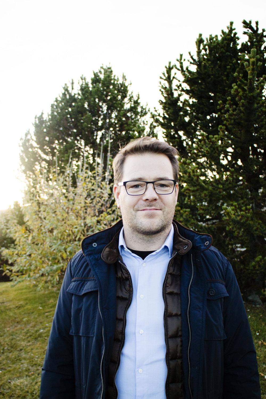 Guðmundur Haukur Sigurðarson, framkvæmdastjóri Vistorku.