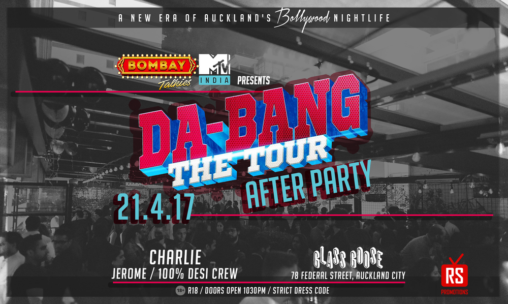 Bombay Talkies, MTV India & RSPromotions proudly present Da-Bang Tour - Official After Party