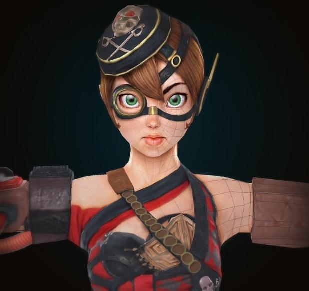 2011 3d character