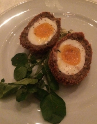 Oh I do love a Scotch Egg! The best 'SE' I have ever had are above at The Rosewood Hotel London back in October & I can't wait to go back for round 2 soon.