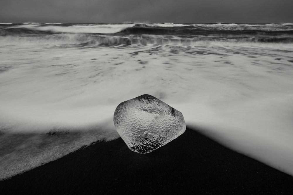 Ice Boulder IV, Jokulsarlon