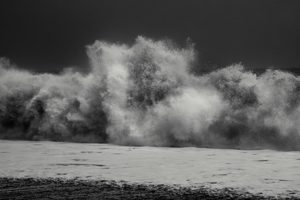 Wave Burst, Reynisfjara