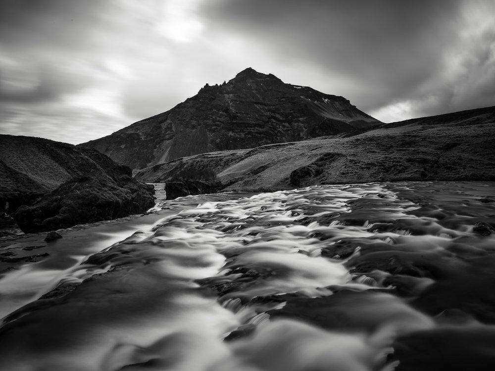 Skogarfoss Rapids