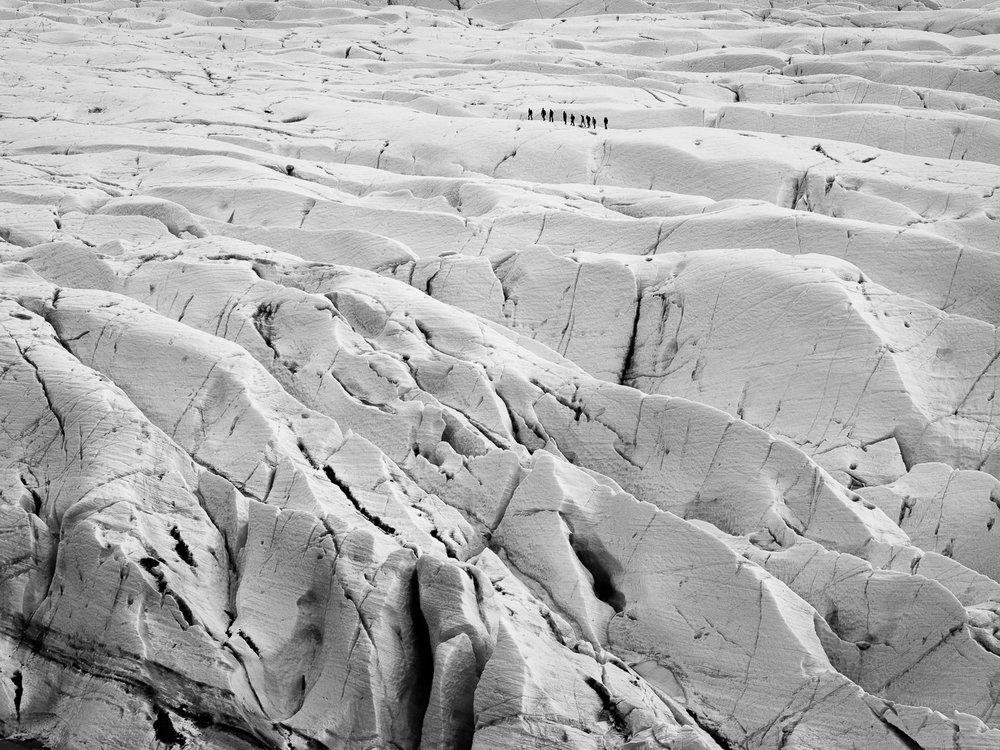 Svinafellsjokul Glacier