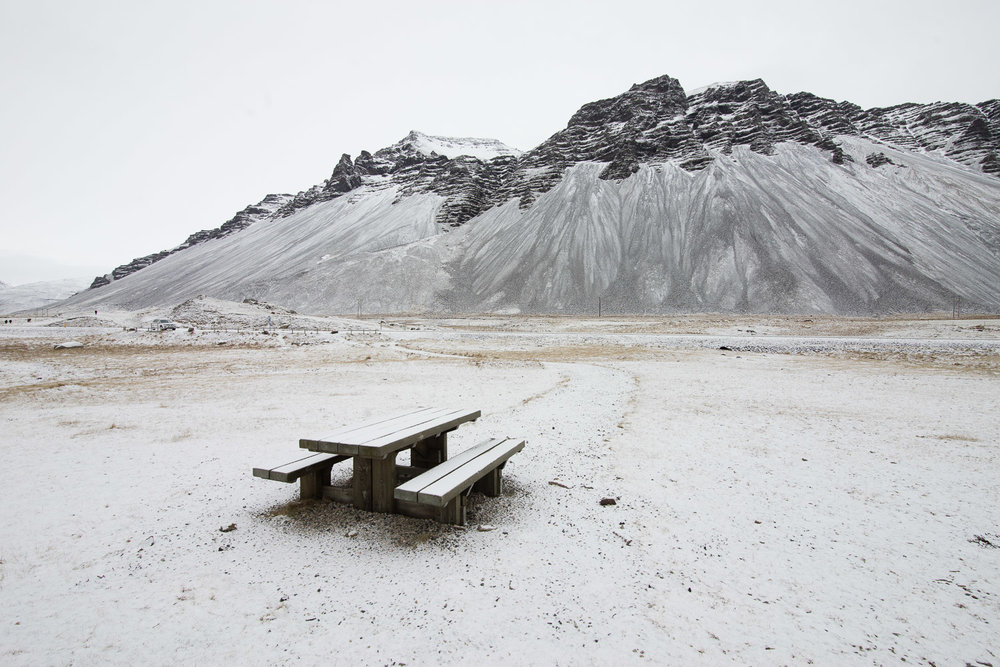 Picnic Table, Höfn