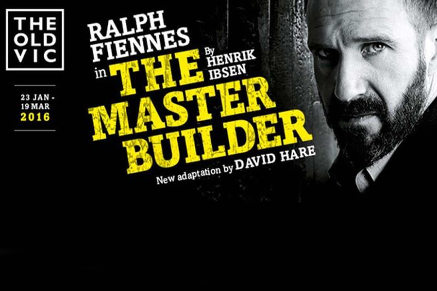 The Master Builder  Starri    ng Ralph Fiennes,     Linda Emond    , Sarah Snook    Shot across two performances with seven cameras.
