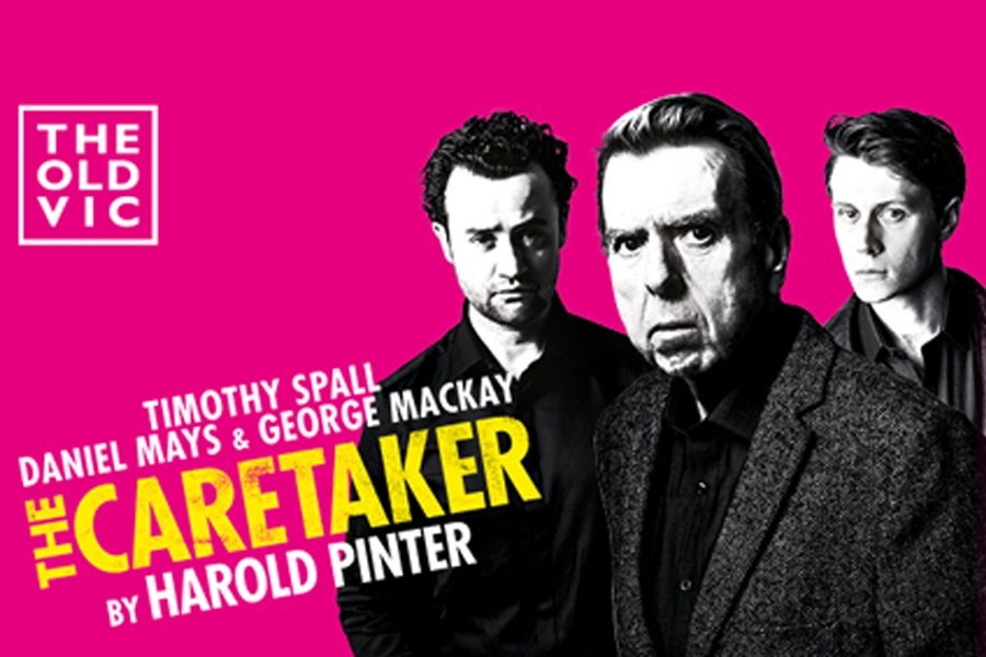 The Caretaker    Starring Timothy Spall, Daniel Mays, George MacKay    Shot over one day with two cameras as a high-end archive