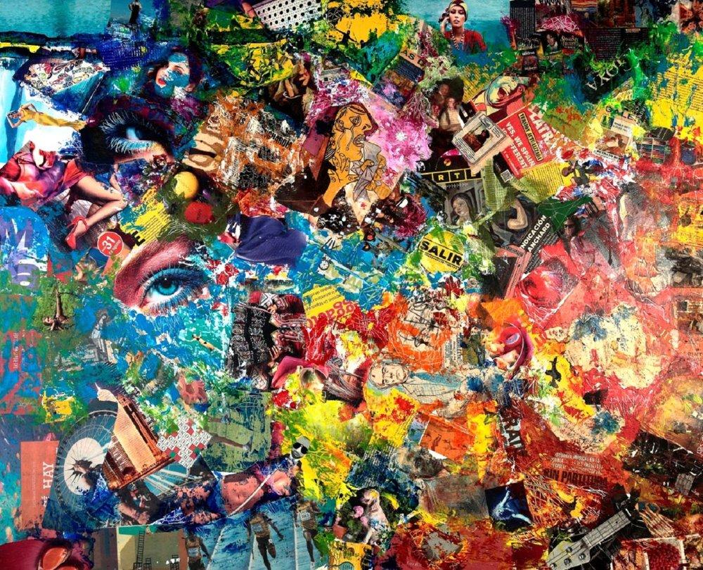 Entropismo (1), 2012, 100X122
