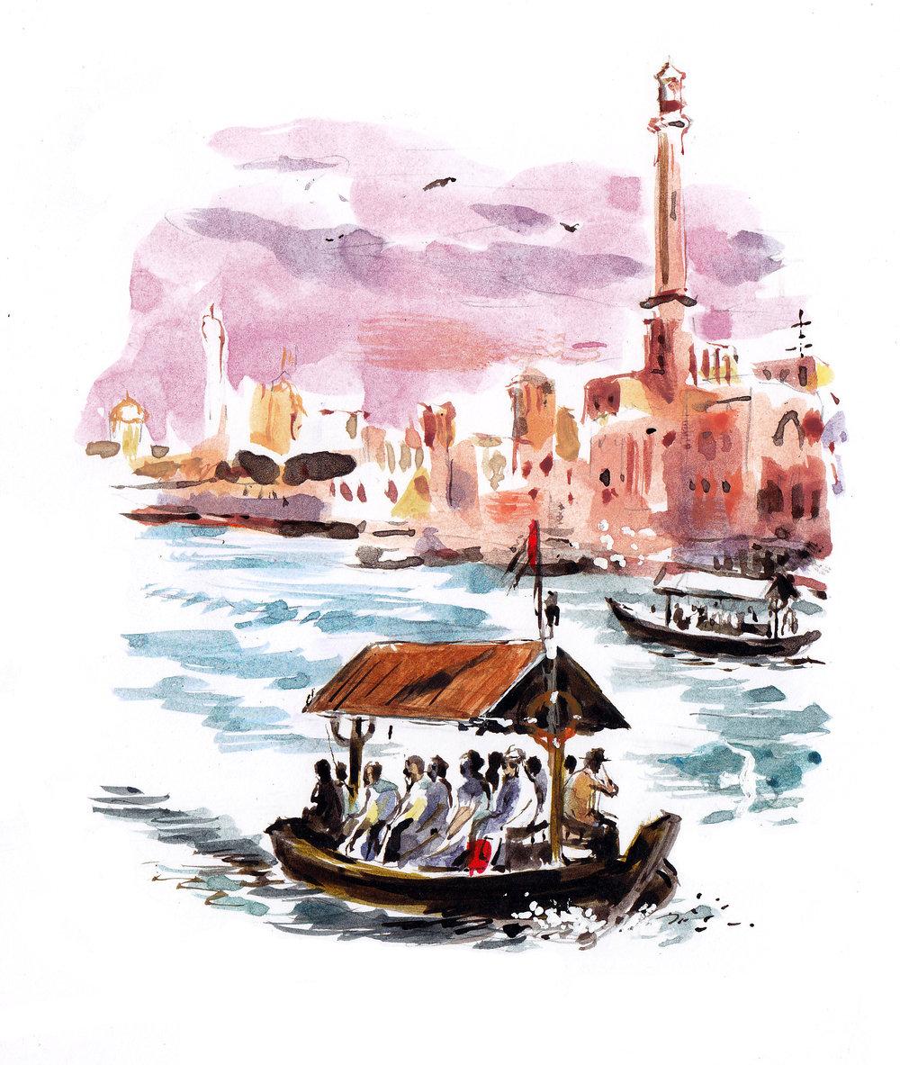 Dubai watertaxi