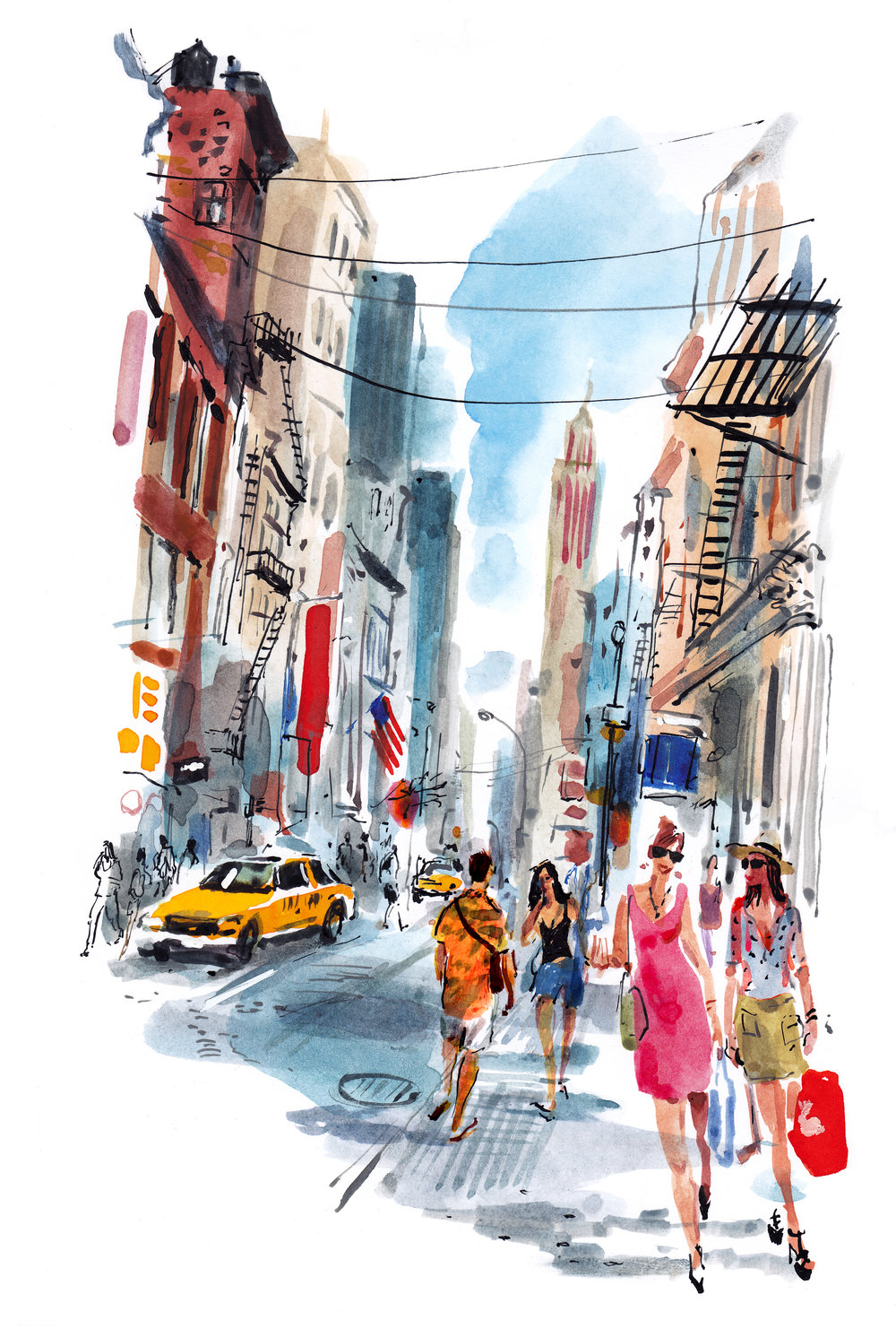 Soho shopping trip, New York