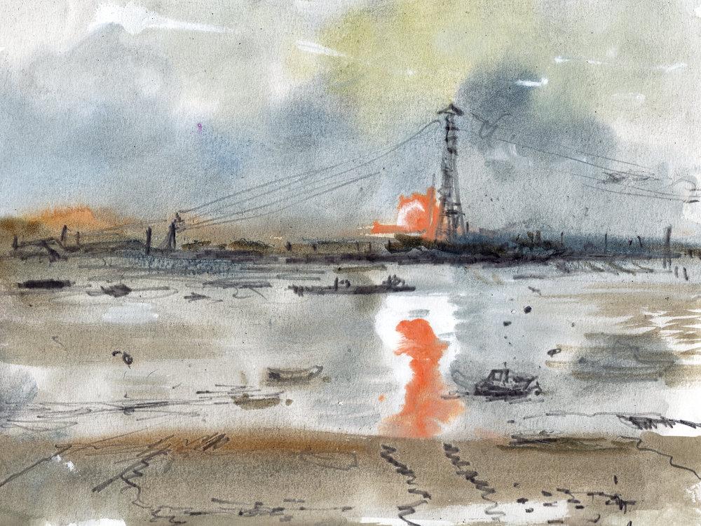 Tilbury dusk