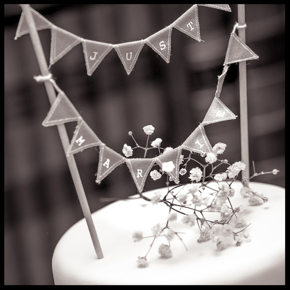 Wedding Cake - Photographed by Nick Church in Somerset