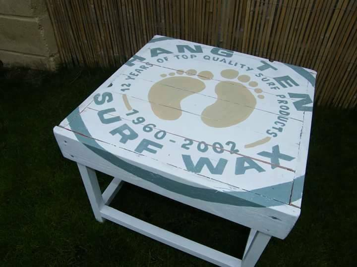Surf Wax Table