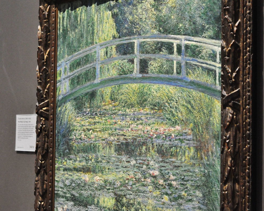 The Water-Lily Pond , 1899,  Claude Monet