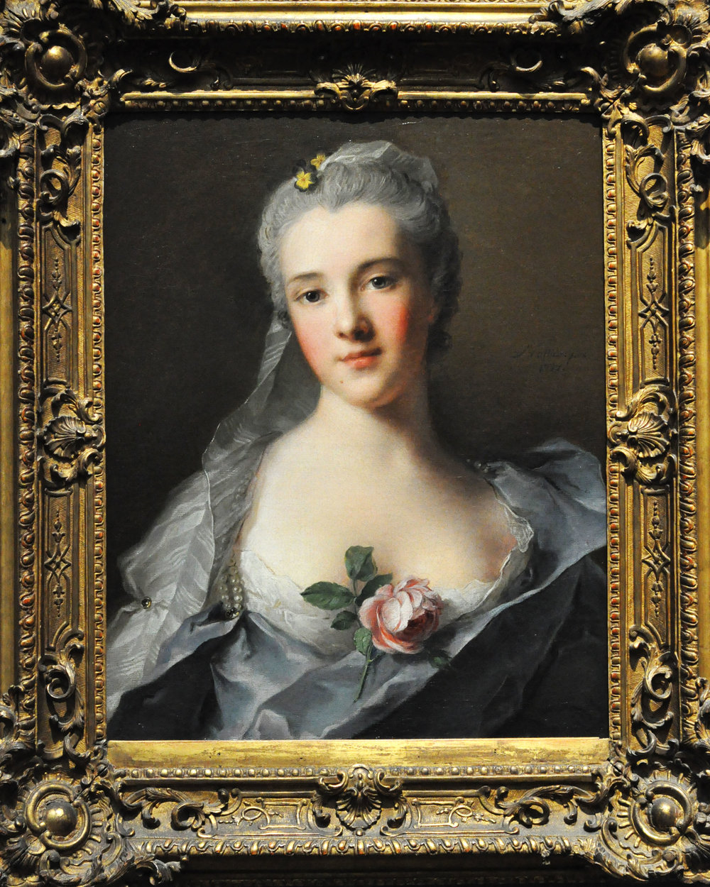 Manon Balletti , 1757,  Jean-Marc Nattier