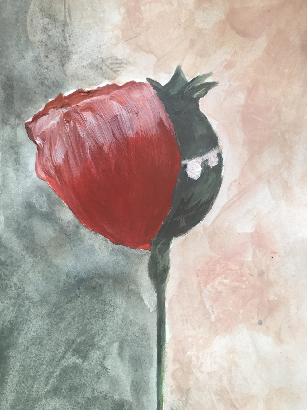 Painting by Tara Aghdashloo
