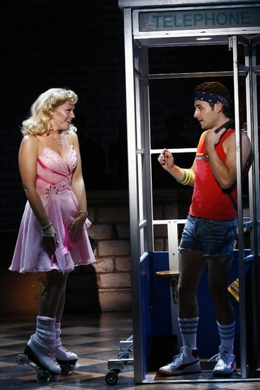 Max and Elizabeth Stanley in Xanadu