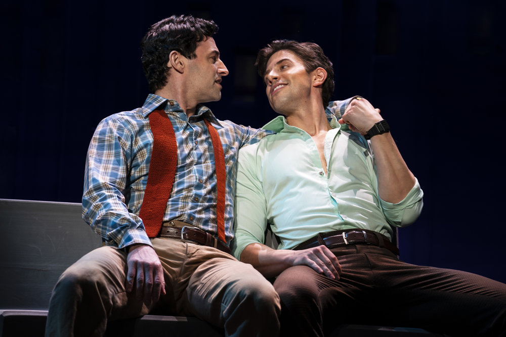 Max and Nick Adams in Falsettos