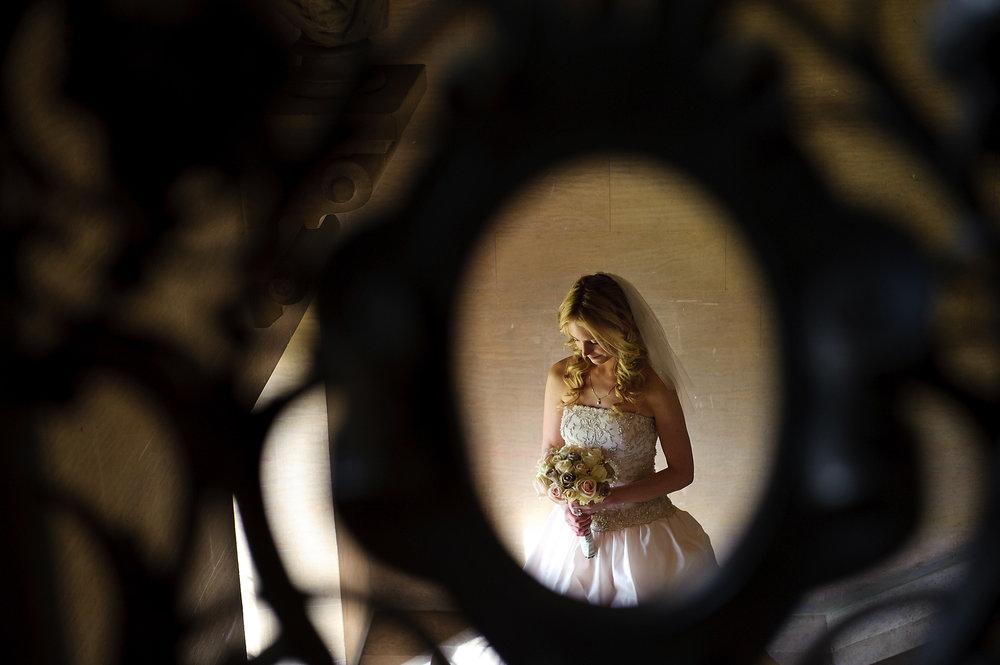 Harlaxton Manor Bride